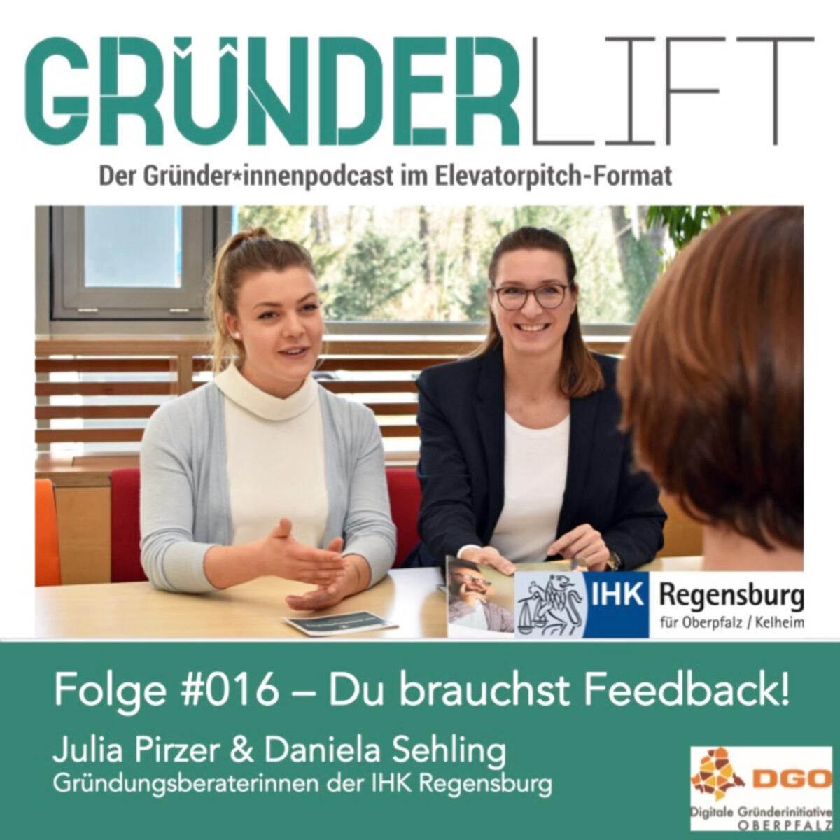 Gründungsberaterinnen Julia Pirzer und Daniela Sehling der IHK Regensburg