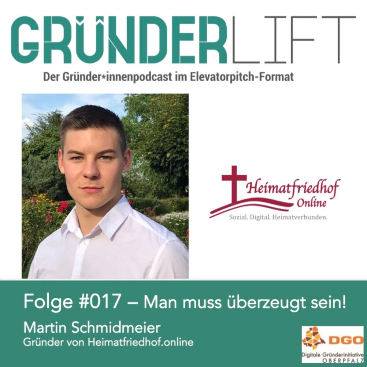 Martin Schmidmeier von Heimatfriedhof.online im Gespräch