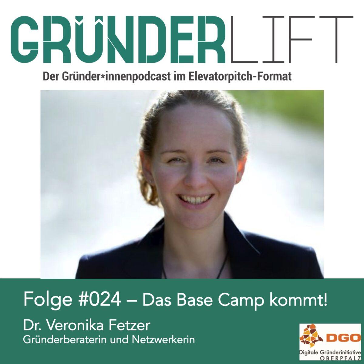 Veronika Fetzer zu Gast im Gründerlift