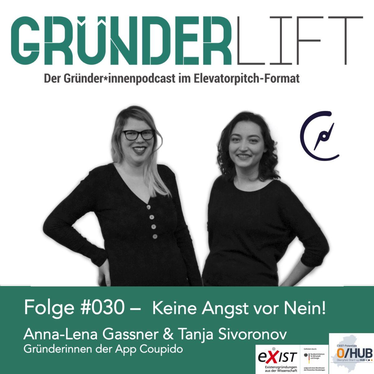 GründerLIFT Folge #030Tanja Sivoronov und Anna-Lena Gassner