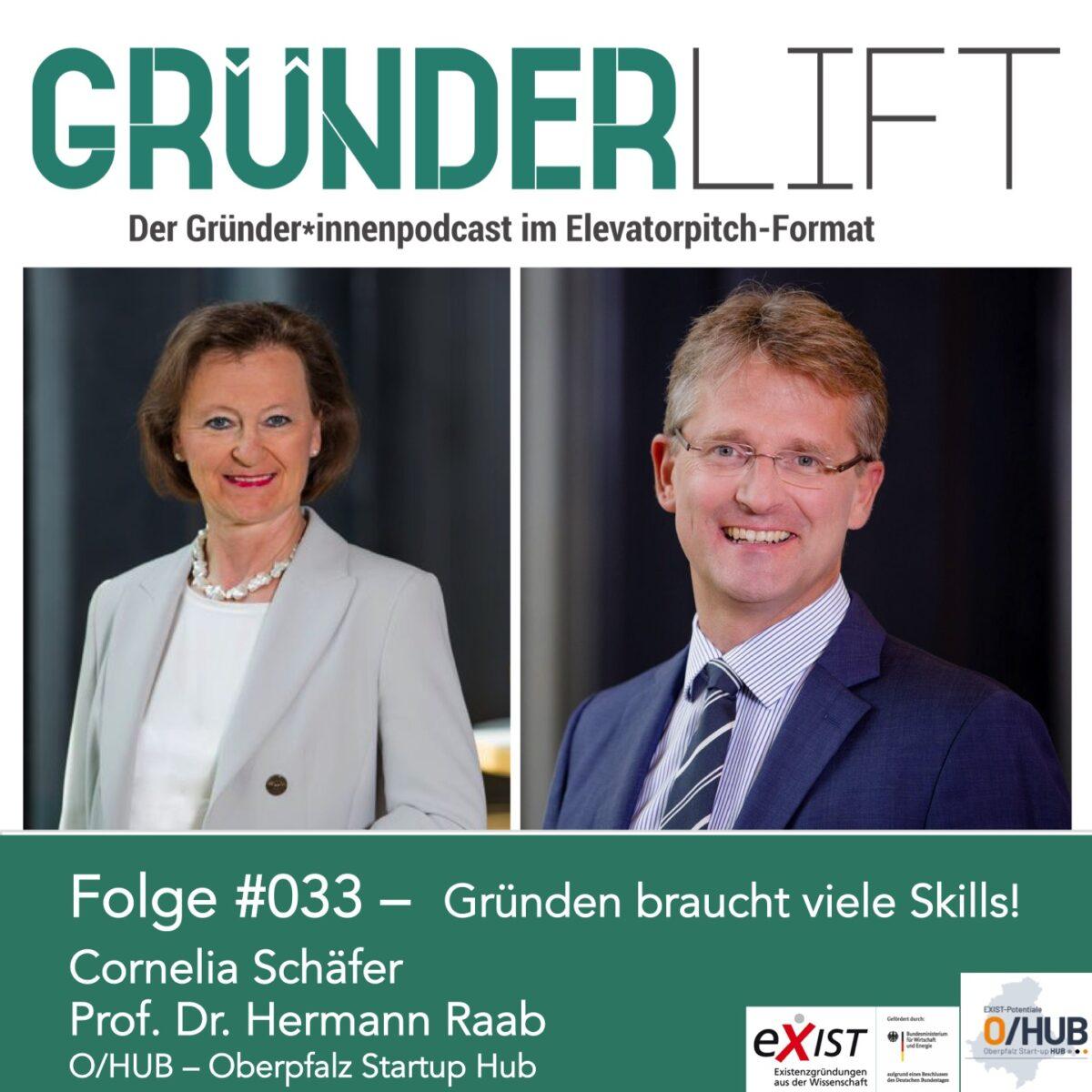 GründerLIFT Folge #033 Cornelia Schäfer Hermann Raab